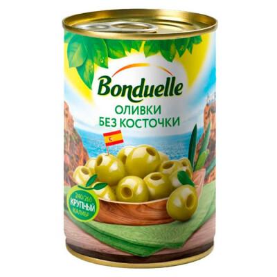 Оливки Bonduelle без косточек 314г