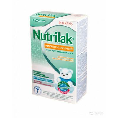 Смесь кисломолочная Nutrilak премиум с рождения 350г