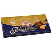 Шоколад Бабаевский 200г 55% горький с целым миндалем
