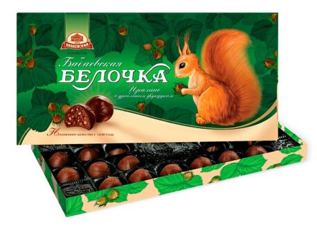Конфеты Бабаевская белочка 400г Бабаевский