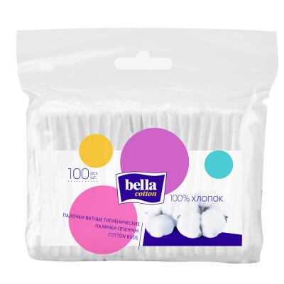 Ватные палочки Bella 100шт пакет