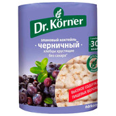 Хлебцы злаковый коктейль Dr.Korner черничный 100г Хлебпром