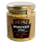 Горчица французская Heinz 180г