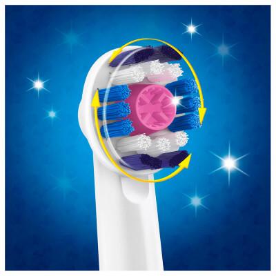 Насадка для зубной щетки Oral-B 3д вайт 2шт