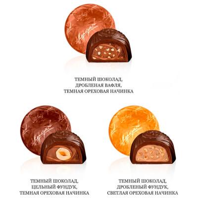 Конфеты Коркунов 192г темный шоколад Одинцовская КФ