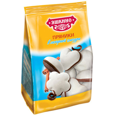 Пряники Яшкино 350г в сахарной глазури