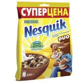 Готовый завтрак Nesquik дуо 250г пакет Nestle