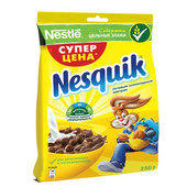 Готовый завтрак Nesquik 250г пакет Nestle