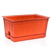 Ящик для цветов 20*12*10 см полимербыт4311900