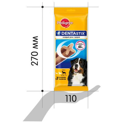 Лакомство для собак Pedigree Denta Stix 270г для крупных пород