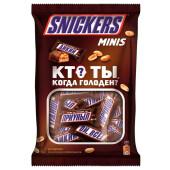 Шоколадные батончики сникерс minis 180г 10шт*18г Mars
