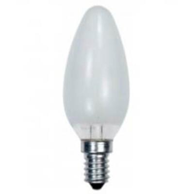 Лампа накаливания космос 60w e14 свеча матовая