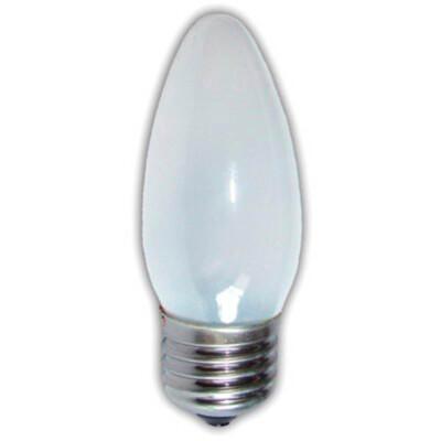 Лампа накаливания космос 40w e27 свеча матовая