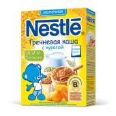 Каша молочная гречневая Nestle с курагой с 5 месяцев 250г