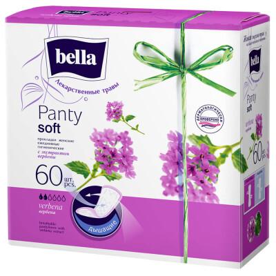 Прокладки ежедневные Bella панти софт 60шт вербена
