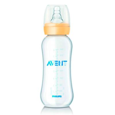 Бутылочка Avent 240млдля кормления стандарт 3+ полипропилен 80910