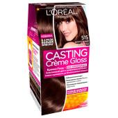 "L'Oreal Paris Стойкая краска-уход для волос ""Casting Creme Gloss"" без аммиака, оттенок 515, Морозный"