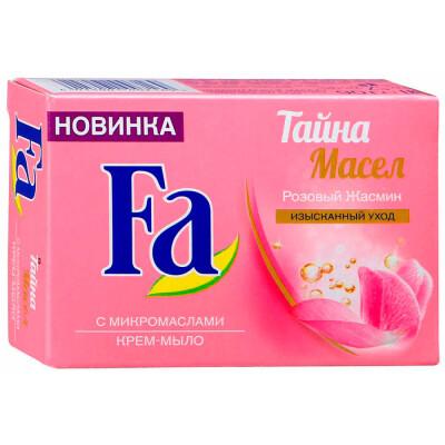Крем-мыло Fa 90г тайна масел розовый жасмин