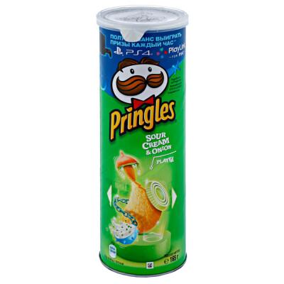 Чипсы Pringles 165г сметана лук