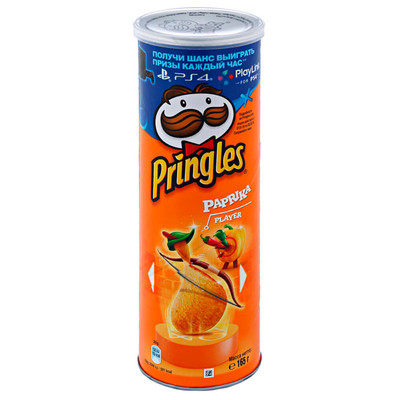 Чипсы Pringles 165г паприка