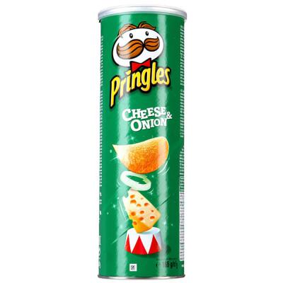 Чипсы Pringles 165г сыр лук