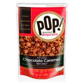 Попкорн с шоколадом карамелью и морской солью 198г корн Курск