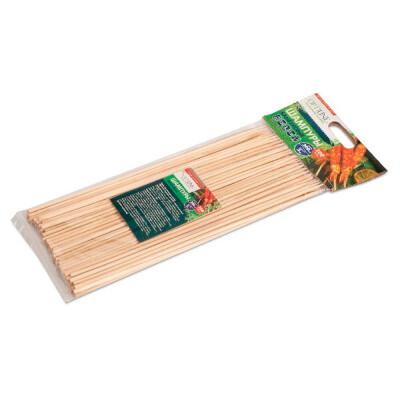 Шампура OptiLine 100шт 20см бамбуковые