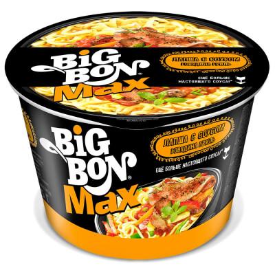 Лапша Big Bon 95г с соусом говядина гриль б/п