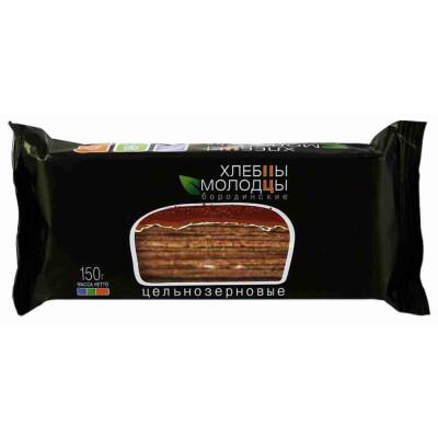 Хлебцы Бородинские Молодцы цельнозерновые 150г