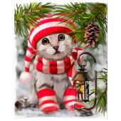 Салфетки Home Collection 20шт 33*33см з слоя котенок
