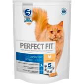 Корм для кошек Perfect Fit 650г для домашних кошек с курицей