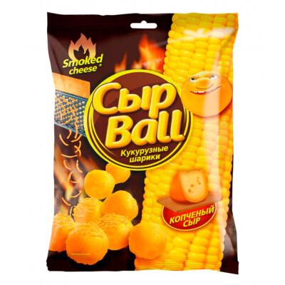 Шарики кукурузные Сыр Ball со вкусом копченого сыра 140г