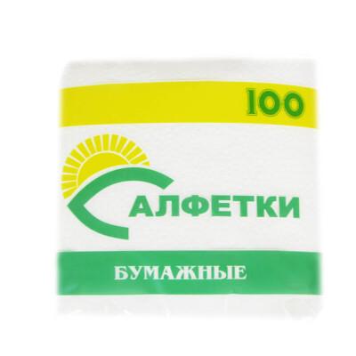 Салфетки бумажные 100шт пп Магнит