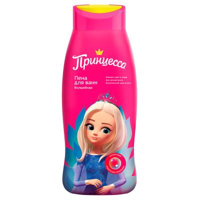 Пена для ванн Принцесса 400мл меняет цвет