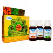 Набор масел эфирных OBSI хорошее настроение апельсин+мелисса+сосна бс-23