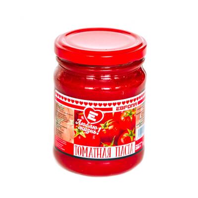 Паста томатная Люблю Жизнь 280г гост ст/б твист