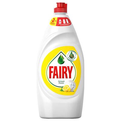 Средство для мытья посуды Fairy 900мл сочный лимон