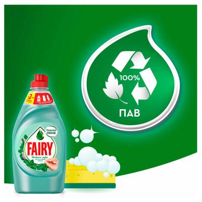 Средство для мытья посуды Fairy 900мл нежные руки чайное дерево и мята