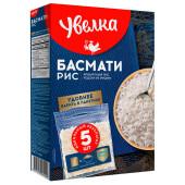 Крупа рис Увелка 5пак.*80г басмати