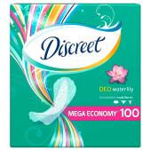 Прокладки ежедневные Discreet 100шт део водная Лилия