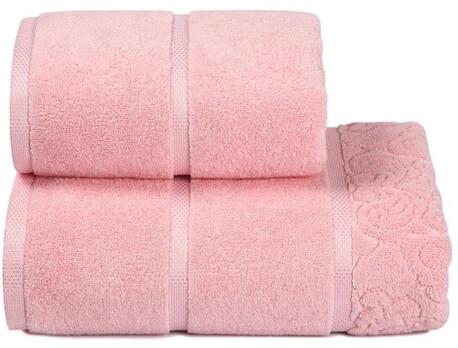 Полотенце дм 50*100см Reggia розовый пц-625-2513