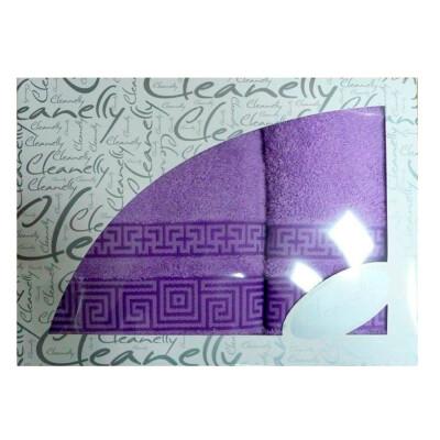 Набор полотенец дм 50*90+70*130см Dedalo лиловый кц-2601-3501-2531