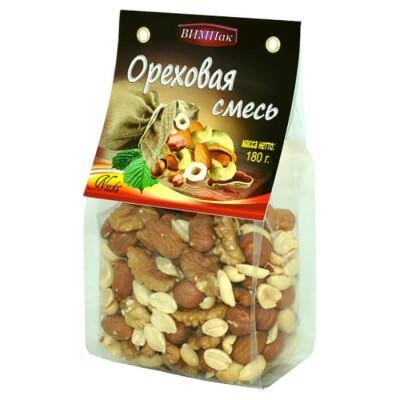 Ореховый микс ВИМПак 180г арахис, грец орех, фундук, кешью