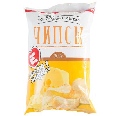 Чипсы Люблю Жизнь со вкусом сыра 300г