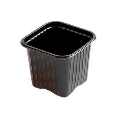 Горшочек для рассады 9*9*9,5см полистирол 64305