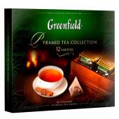 Чай Greenfield 60пак*1,8г подарочный набор ассорти пирамидки