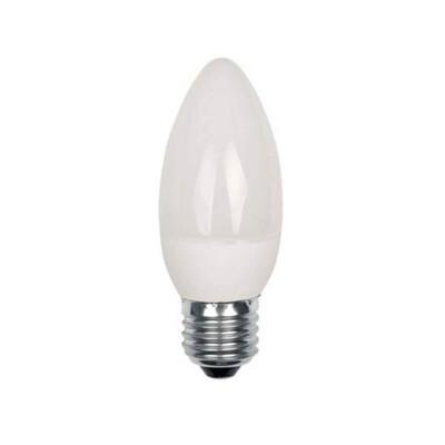 Лампа светодиодная Европа 7Вт Е27 свеча холодный свет