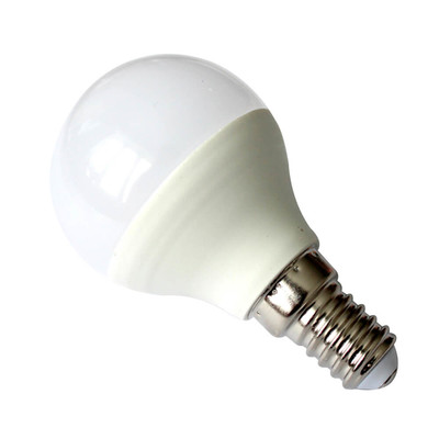 Лампа светодиодная Европа 7Вт Е14 шар теплый свет