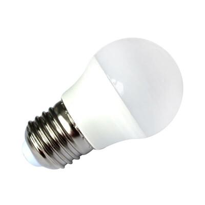 Лампа светодиодная Европа 7Вт Е27 шар теплый свет