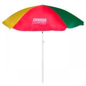 Зонт пляжный 160*6см складная штанга 165см bu-06 999356